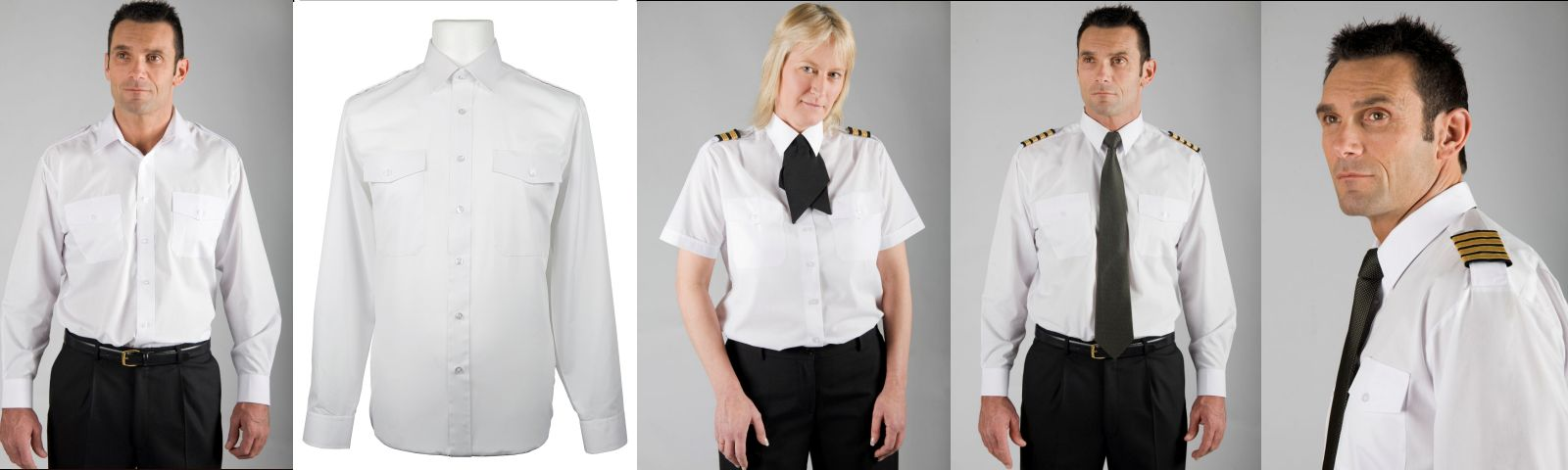 Pilot and Uniform shirts